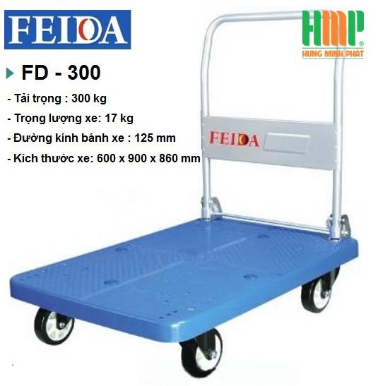 XE ĐẨY SÀN NHỰA FEIDA FD-300