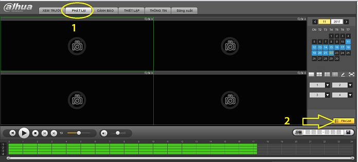 Cách lấy dữ liệu đầu ghi camera từ xa về máy tính tại shopcamerahd