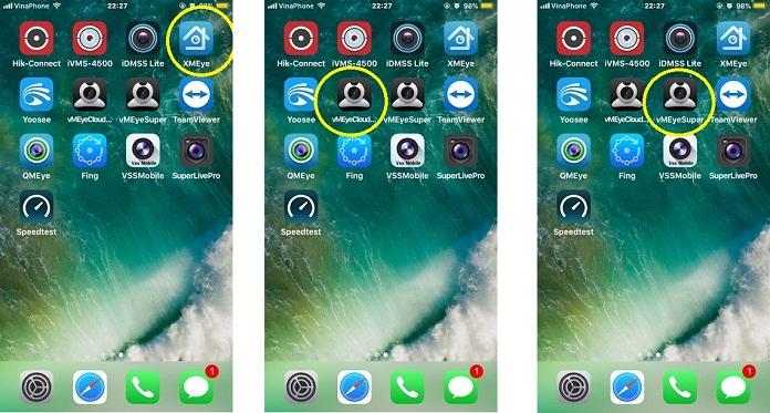 Tổng hợp Phần mềm xem camera Android, Iphone -sdt : 0866501503