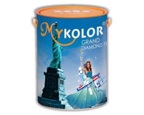 Đặc điểm của sơn ngoại thất siêu bóng Mykolor cao cấp