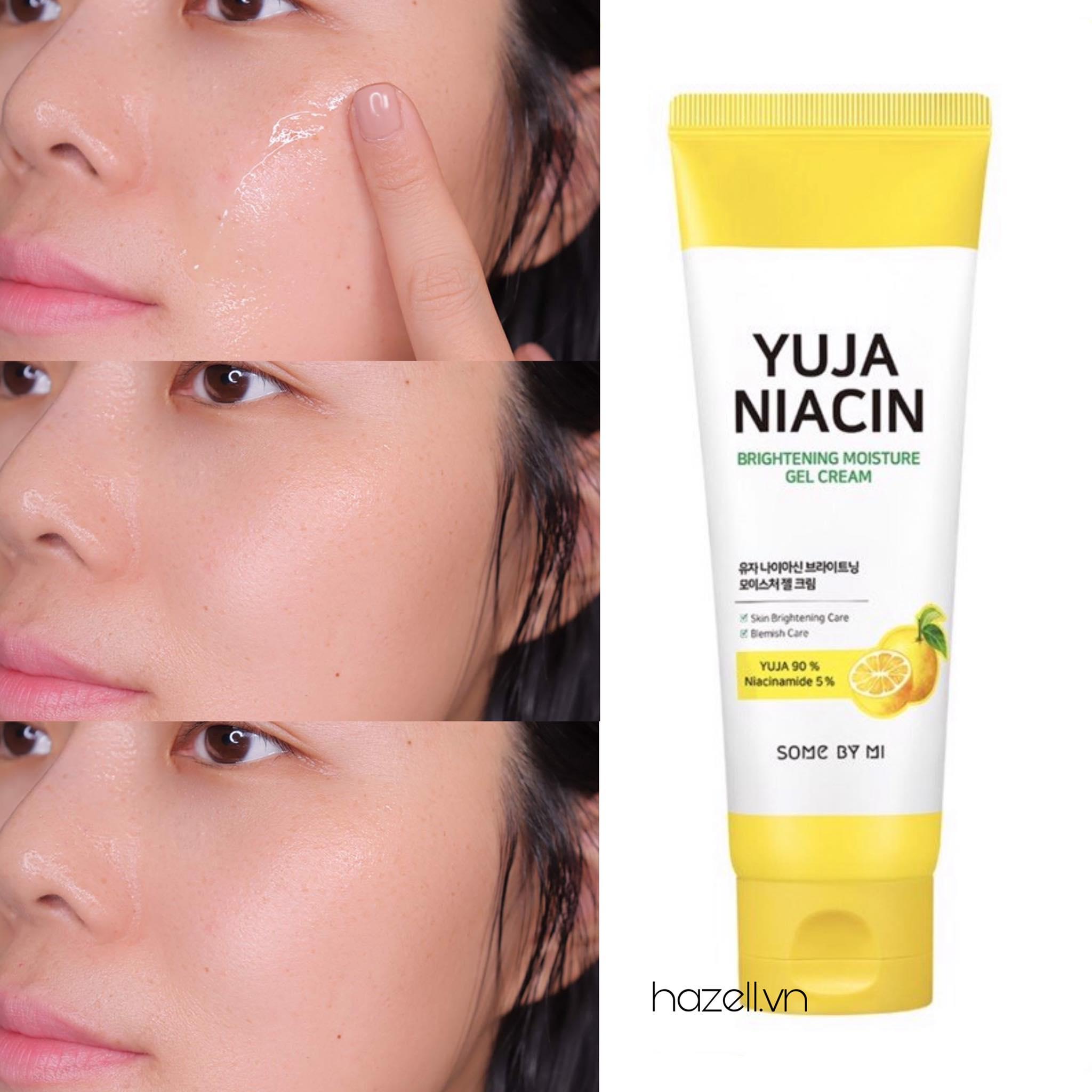 Kem dưỡng Some By Mi Yuja Niacin Brightening Moisture Gel Cream 100ml -  HÀNG NHẬP KHẨU
