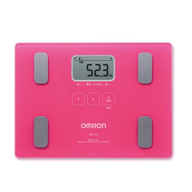 Cân và đo lượng mỡ cơ thể Omron HBF-212