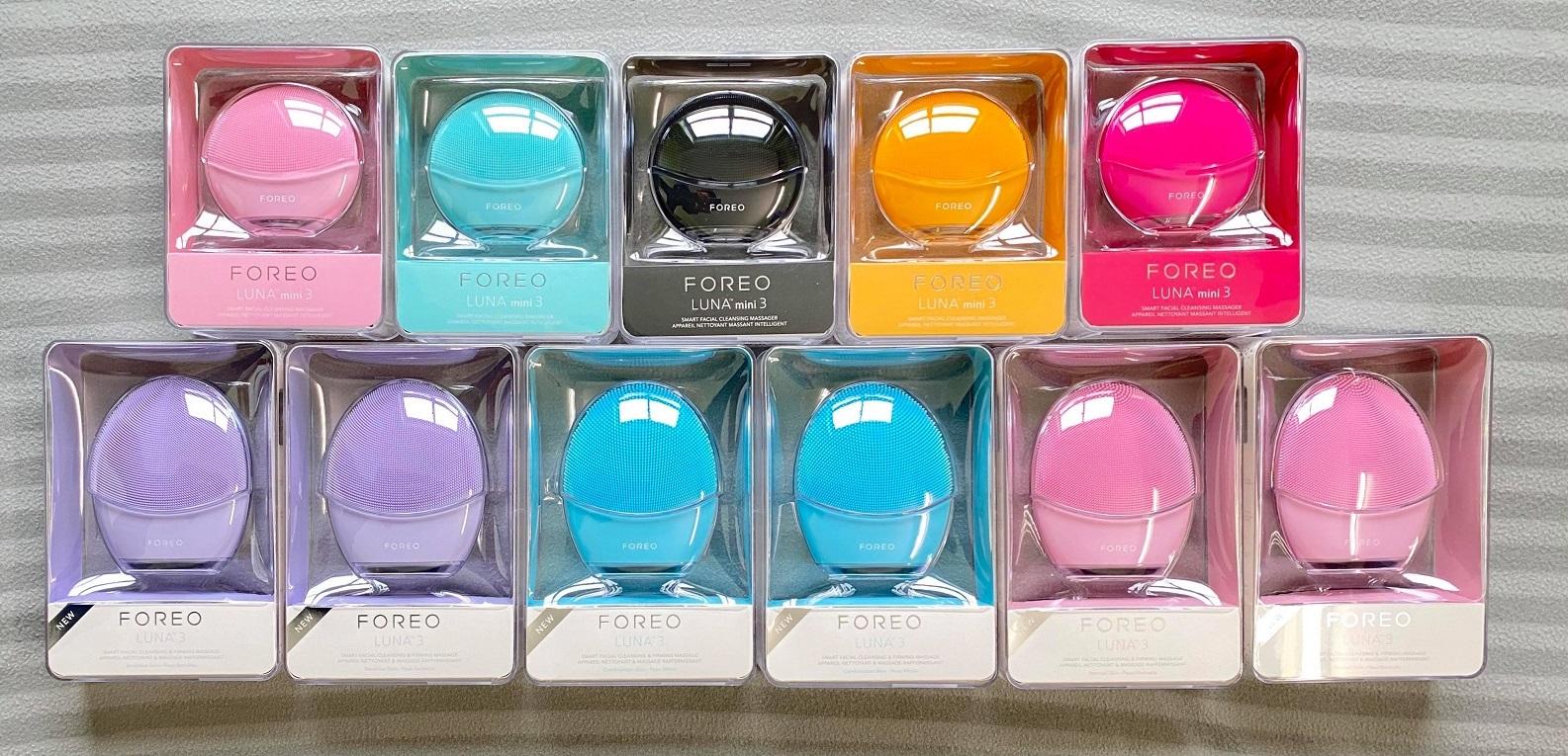 Máy rửa mặt Foreo Luna Mini 3 - Hàng chính hãng Foreo thụy điển