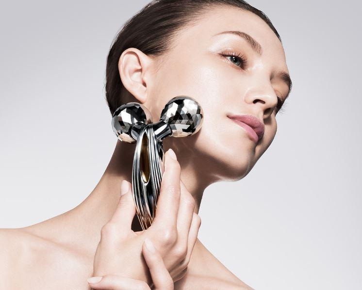 Refa Carat Ray - Cây lăn massage mặt và body