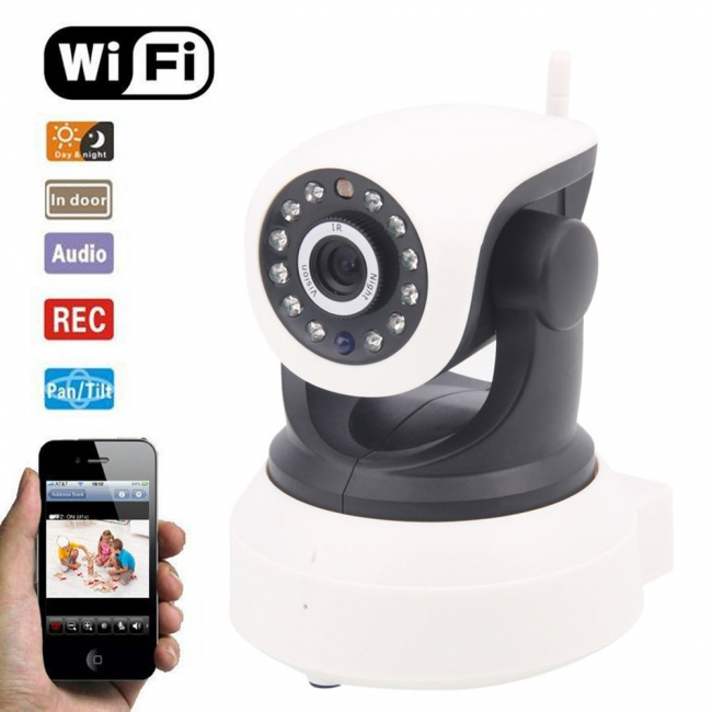 Camera wifi P2P full HD