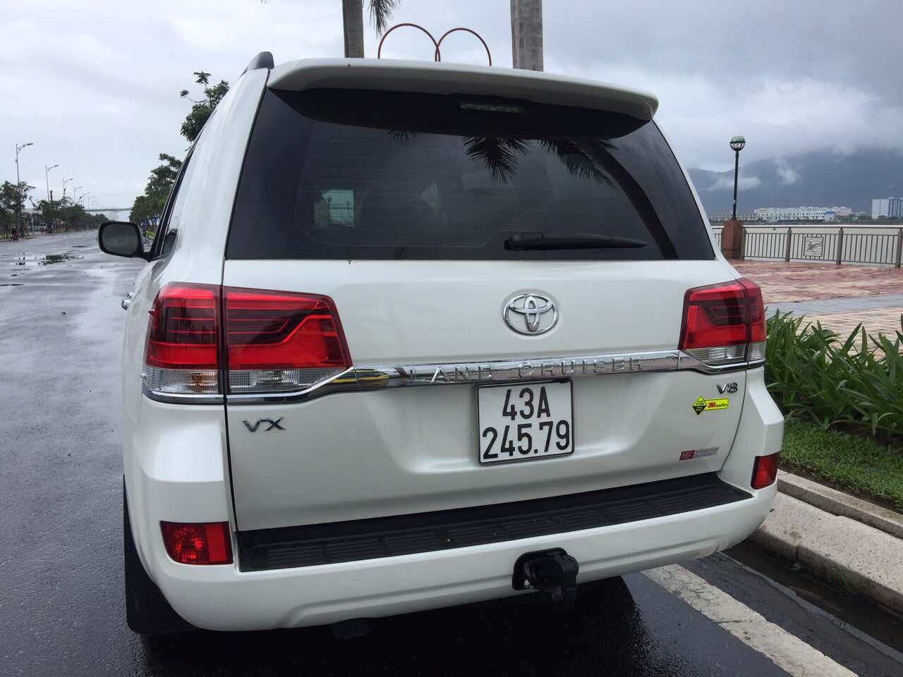 Land Cruiser VX 2016 trắng 43A-789.xx