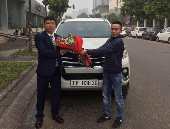 Toyota Fortuner X 2018 30F-038.xx