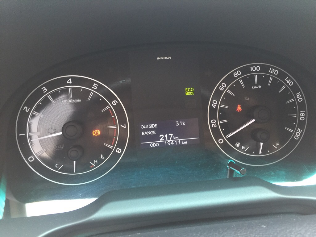 Toyota Innova E 2016