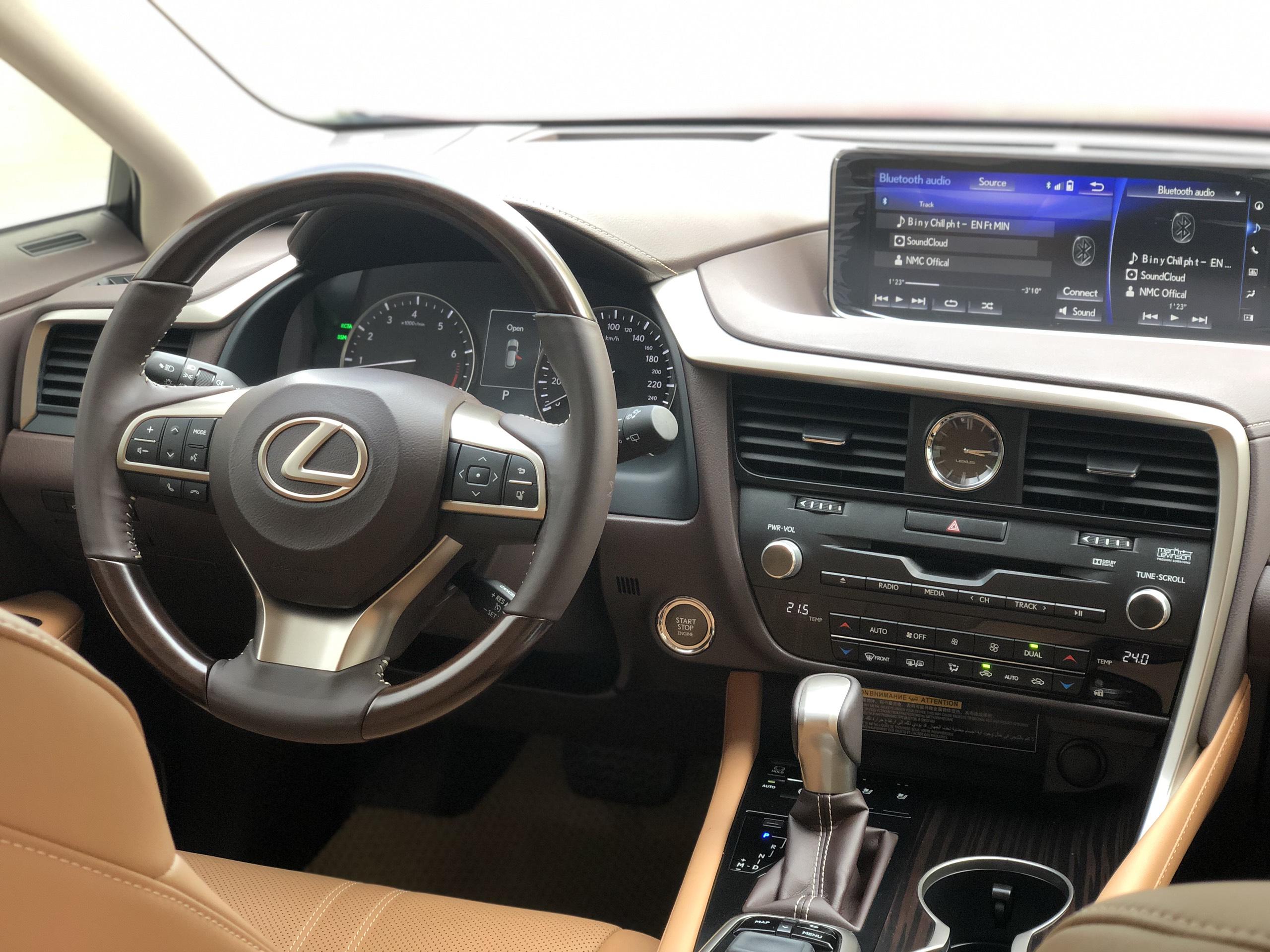 Lexus RX350 2019 đỏ