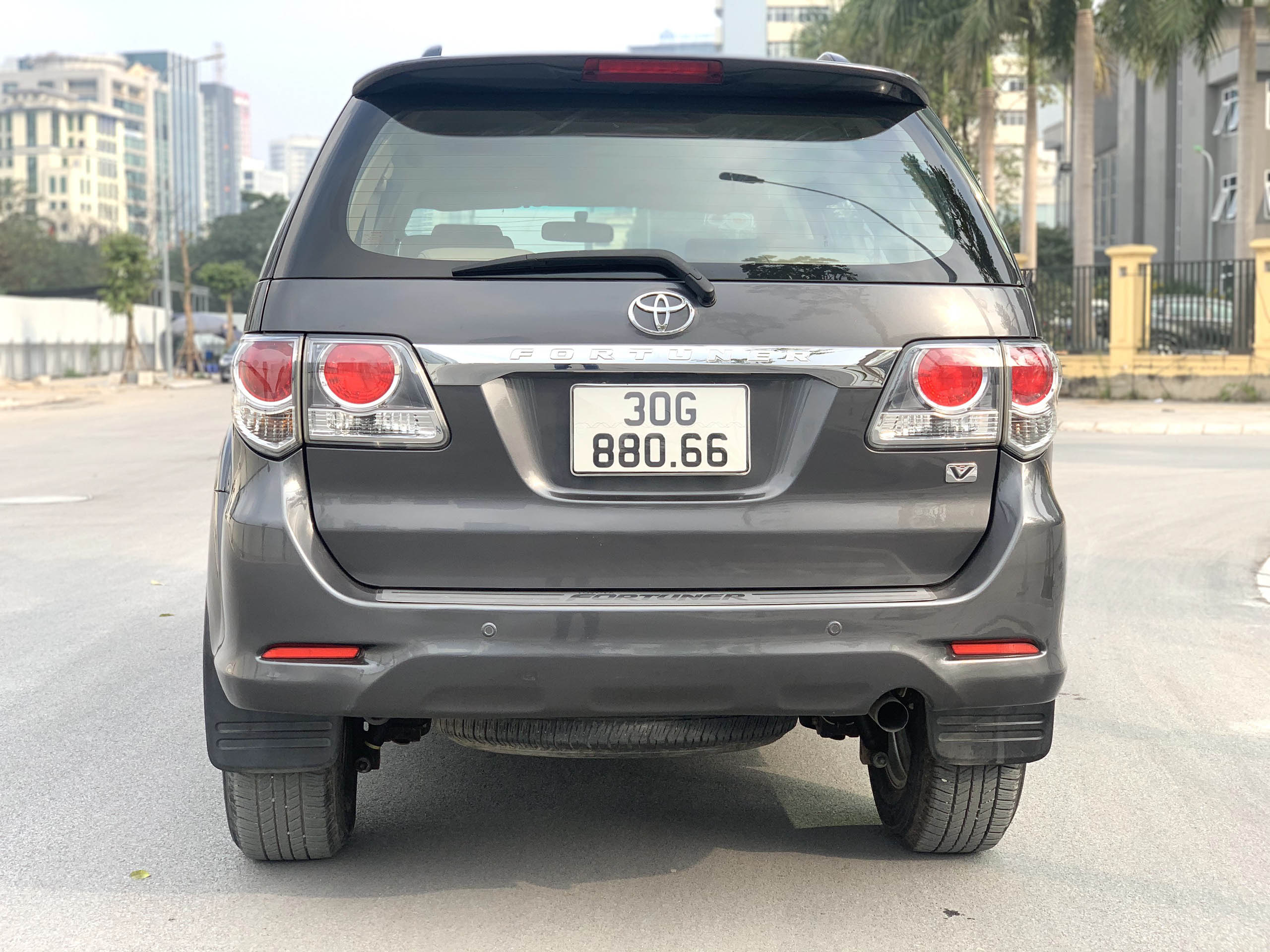 Toyota Fortuner Sx 2012