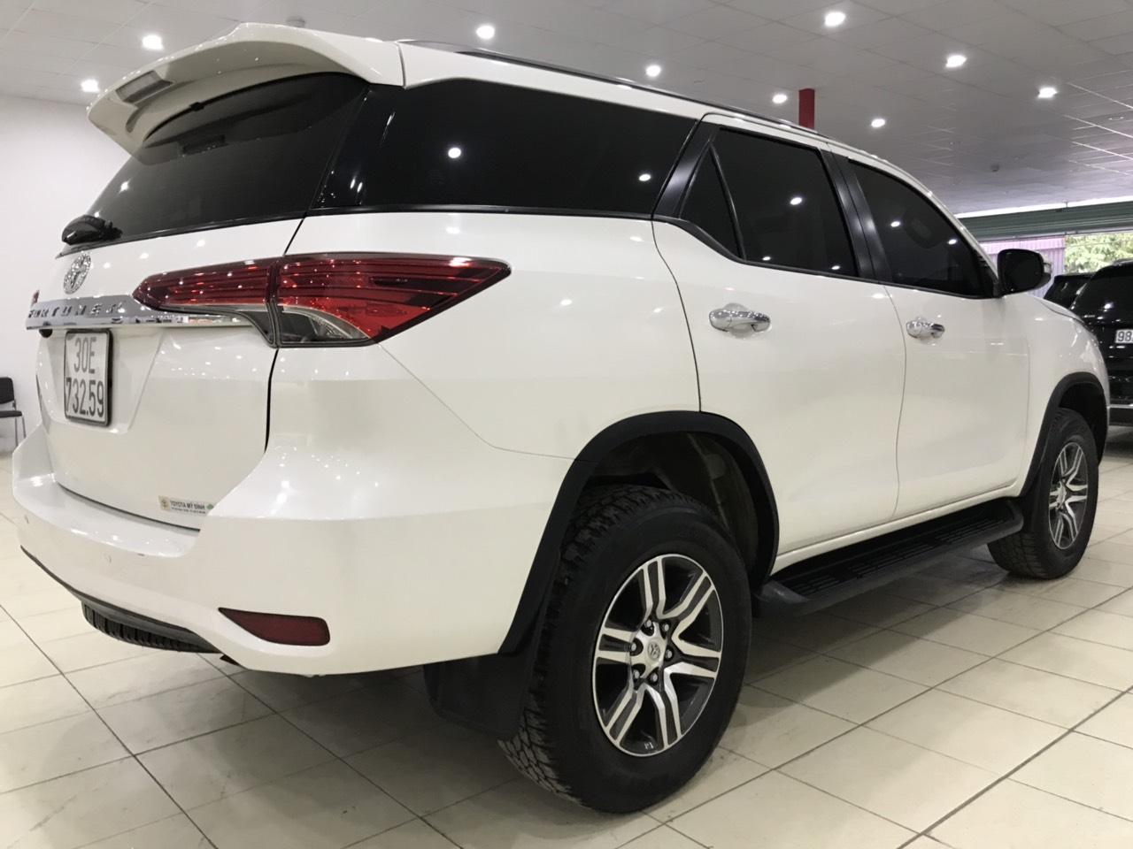Fortuner X 2017 trắng