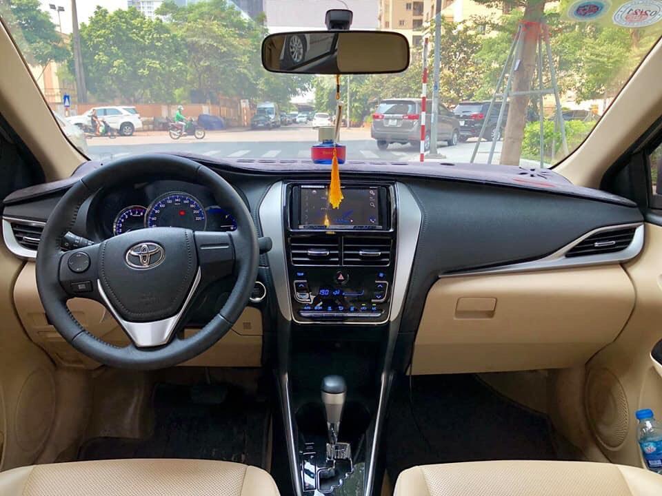 Toyota Vios G 2018 nâu vàng