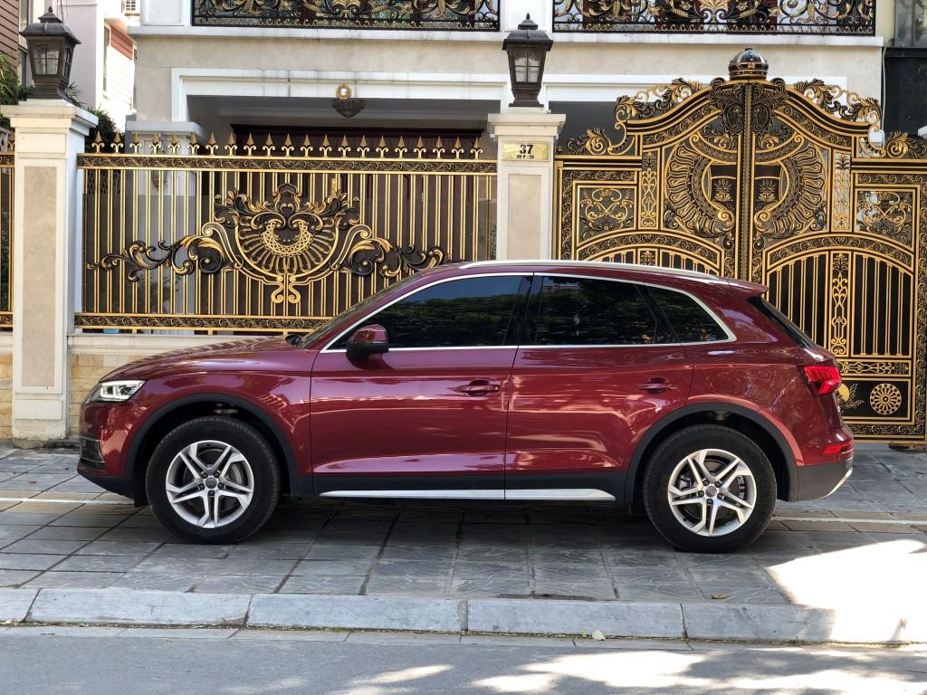 Audi Q5 2017 đỏ