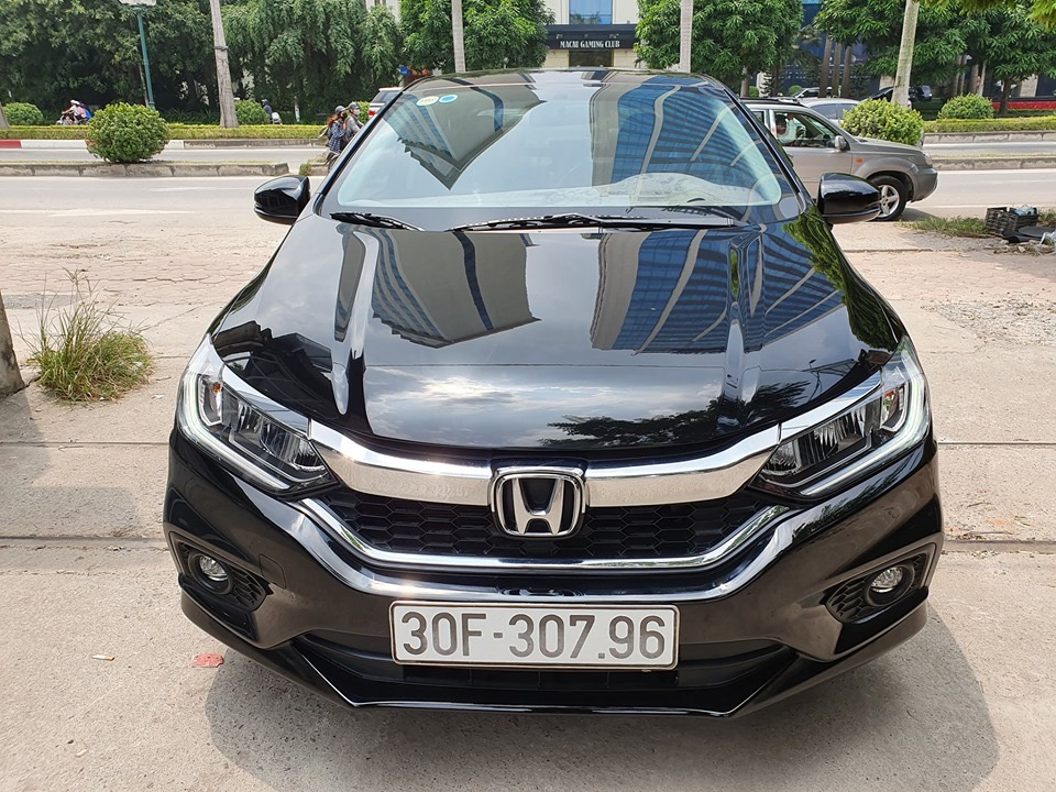 Honda City Top 2017 đen