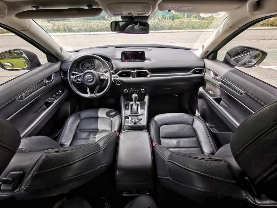 Mazda CX5 2018 đen