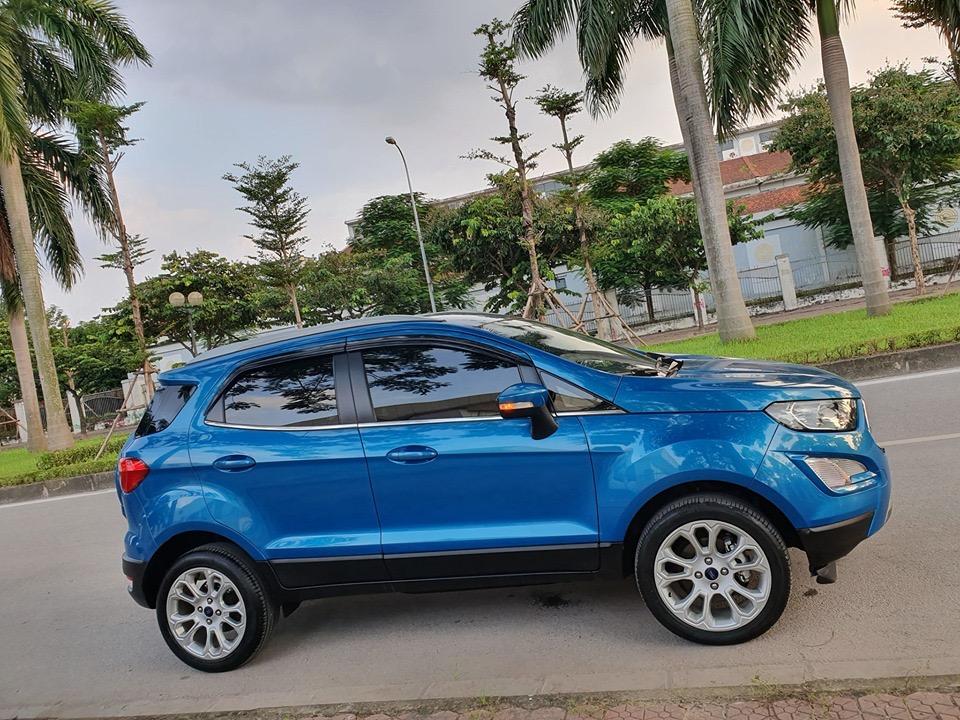 Ford Ecosport 2018 Titanium xanh