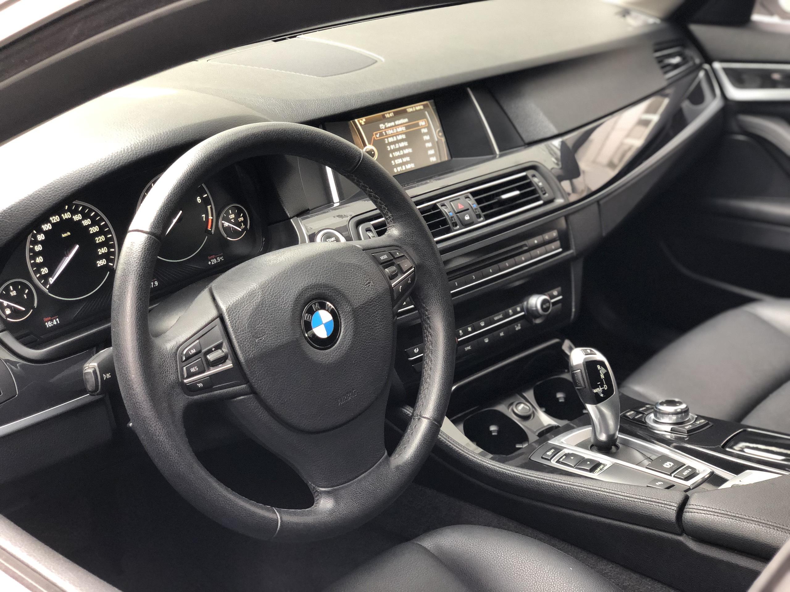 BMW 520i 2013 model 2014