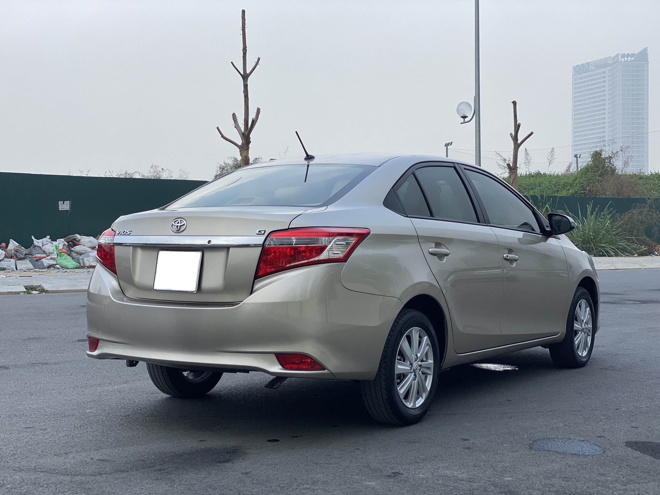 Toyota Vios G Sản Xuất 2017