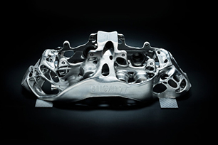 SLM Solutions metal 3D Printing brakes the most power car in Bugatti History