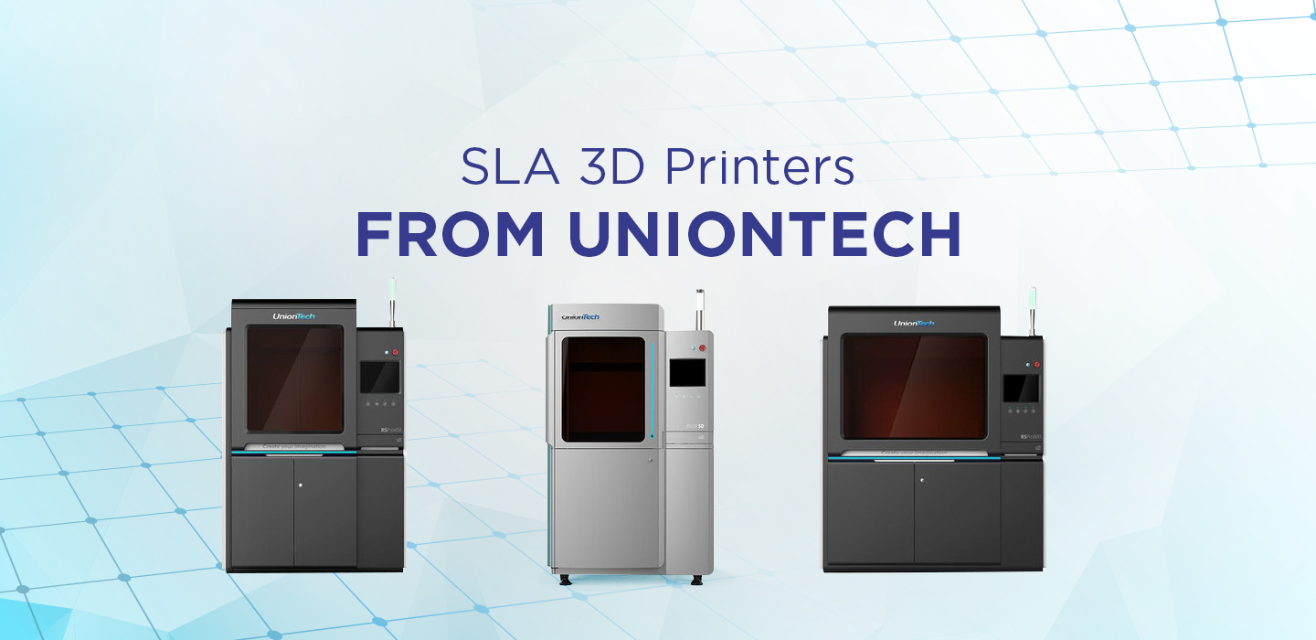SLA 3D printers from UnionTech