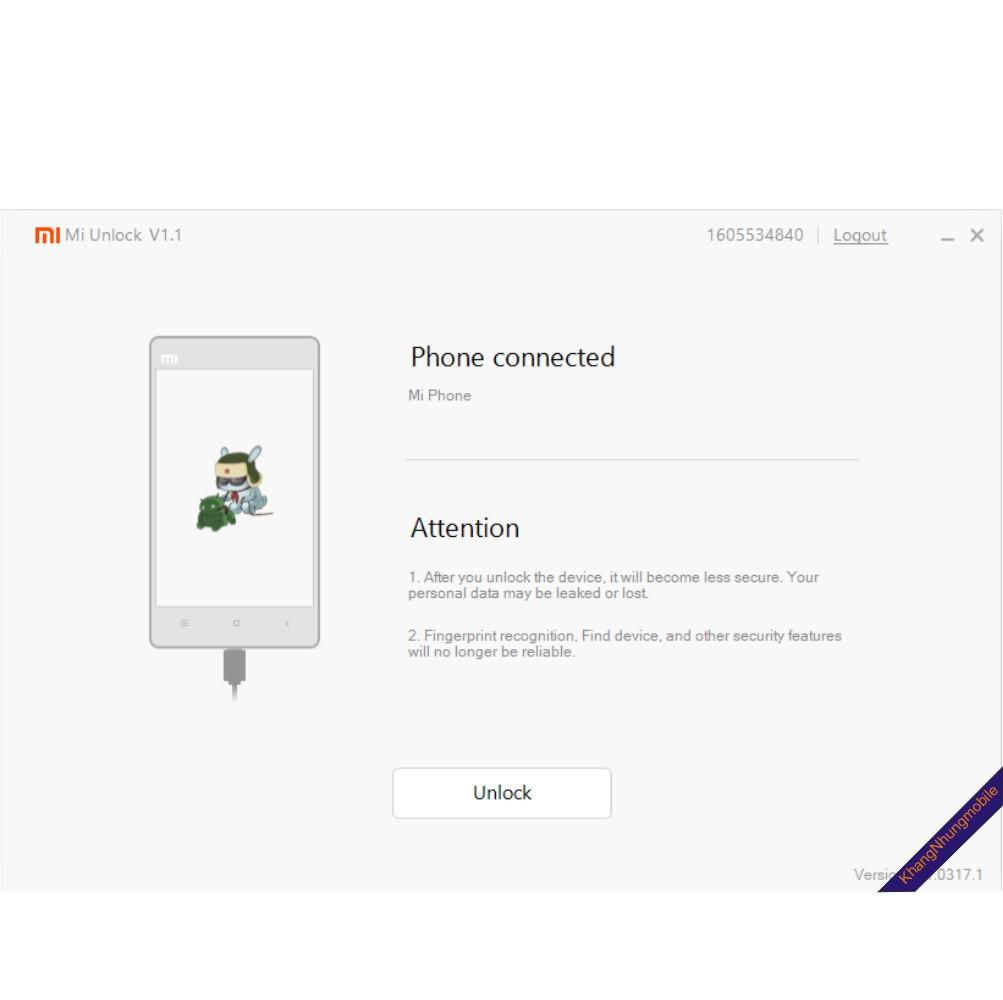 Hướng dẫn Unlock Bootloader cho các máy xiaomi thế hệ mới