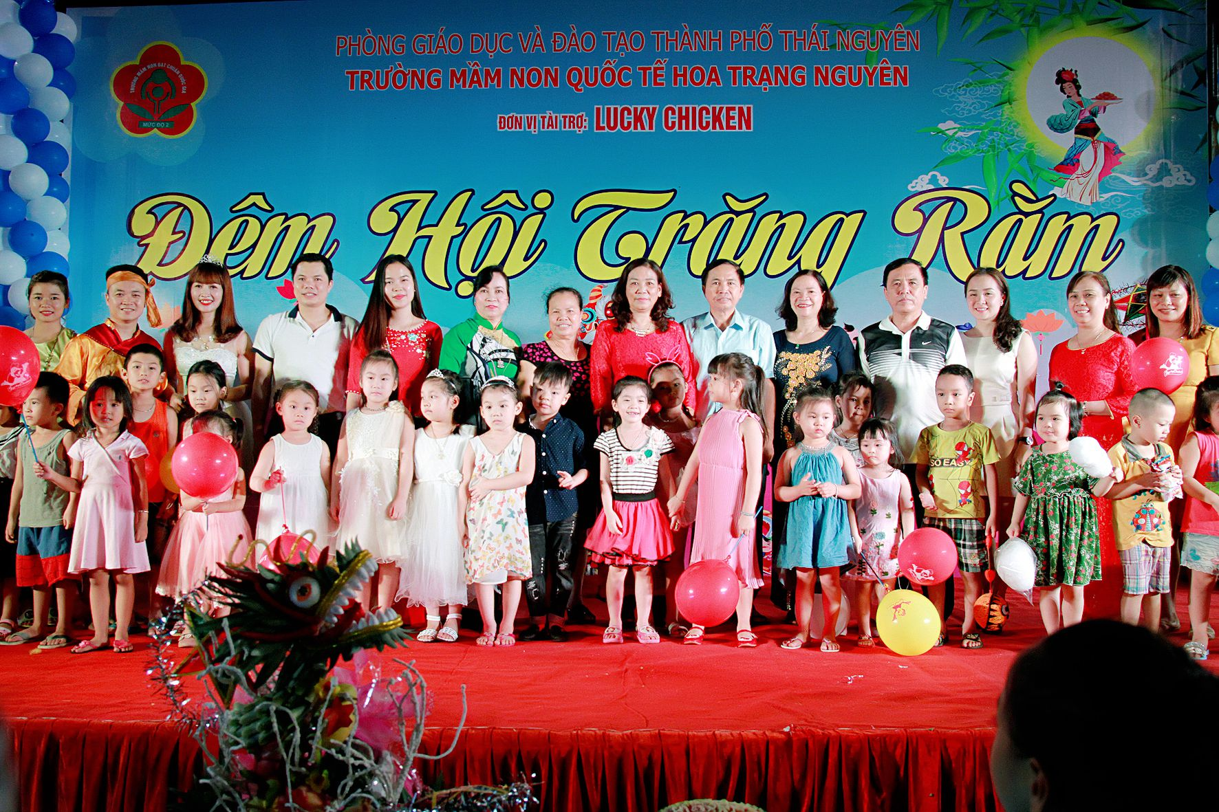 Album đêm hội Trung thu mầm non Hoa Trạng Nguyên ( phần 4 )