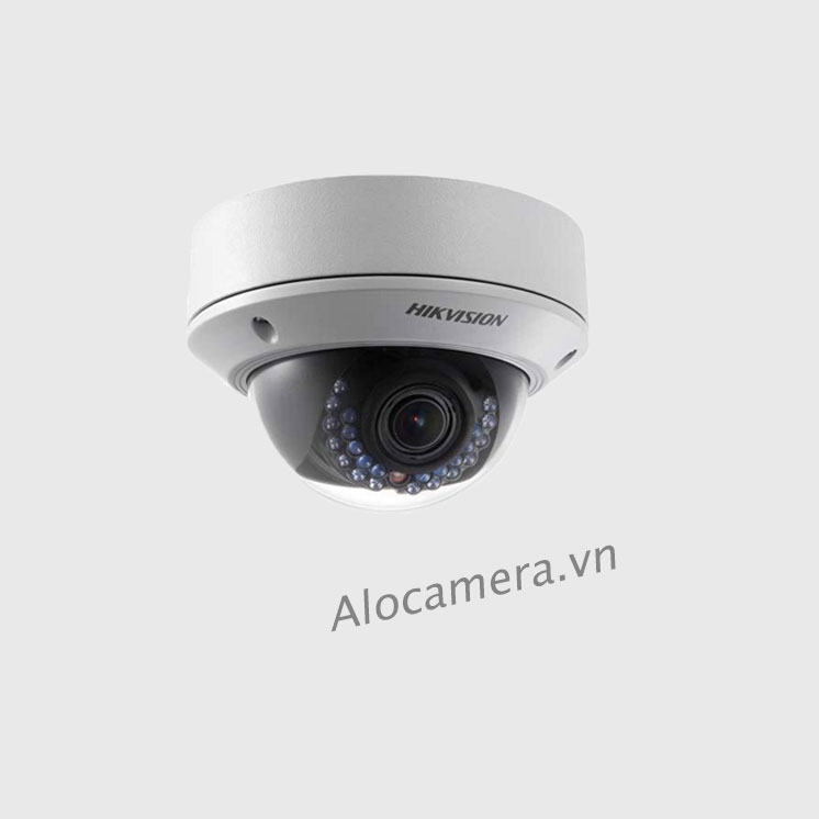 Camera Hikvision DS-2CD2710F-IS IP bán cầu hồng ngoại 30m 1MP