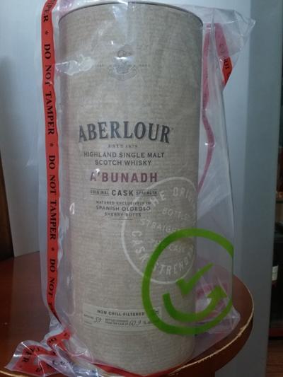 RượuAberlour a'bunadh batch 59