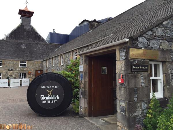 nhà máy rượu glenfiddich
