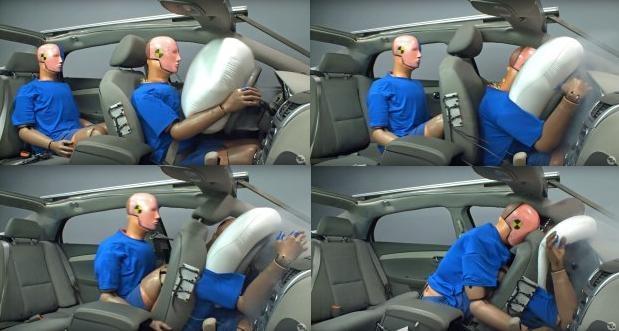 cài dây an toàn khi ngồi ghế sau