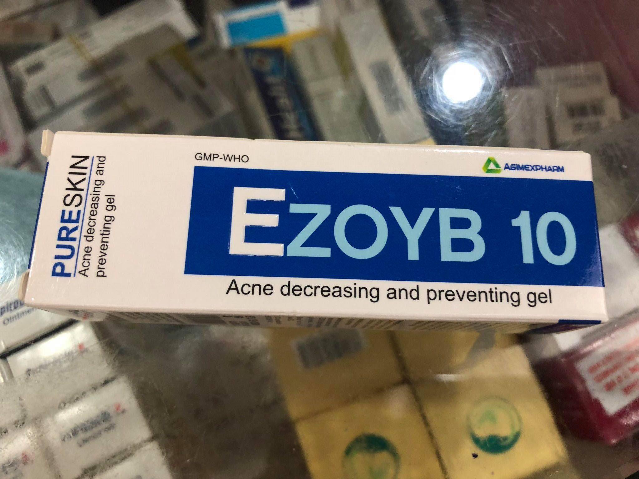 EZOYB 10 Giúp giảm và ngăn ngừa mụn trứng cá 10g