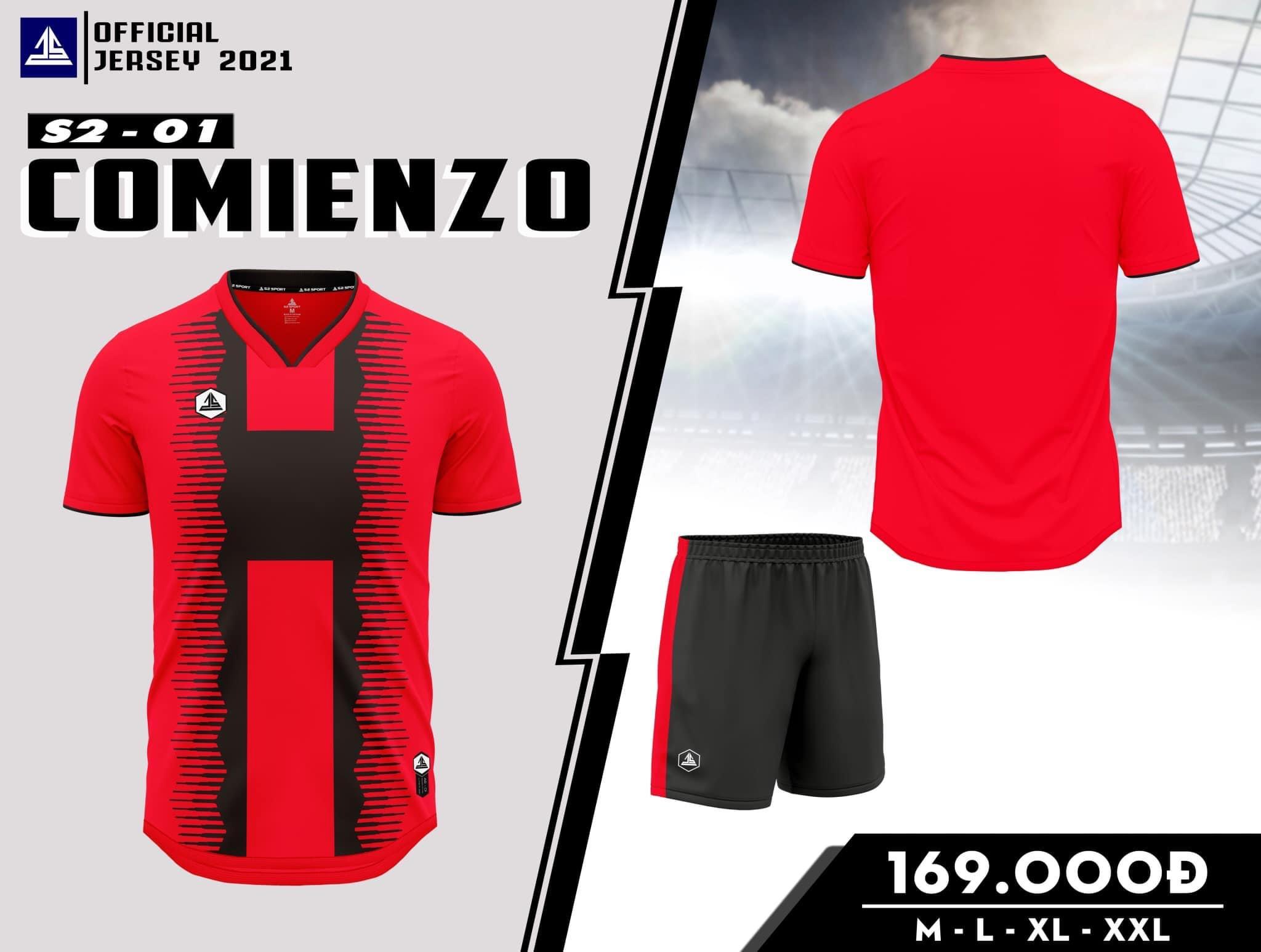 Quần áo bóng đá Comienzo