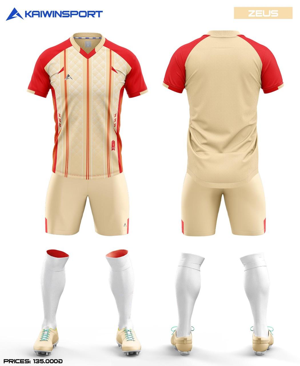 Áo bóng đá Kaiwin Zeus