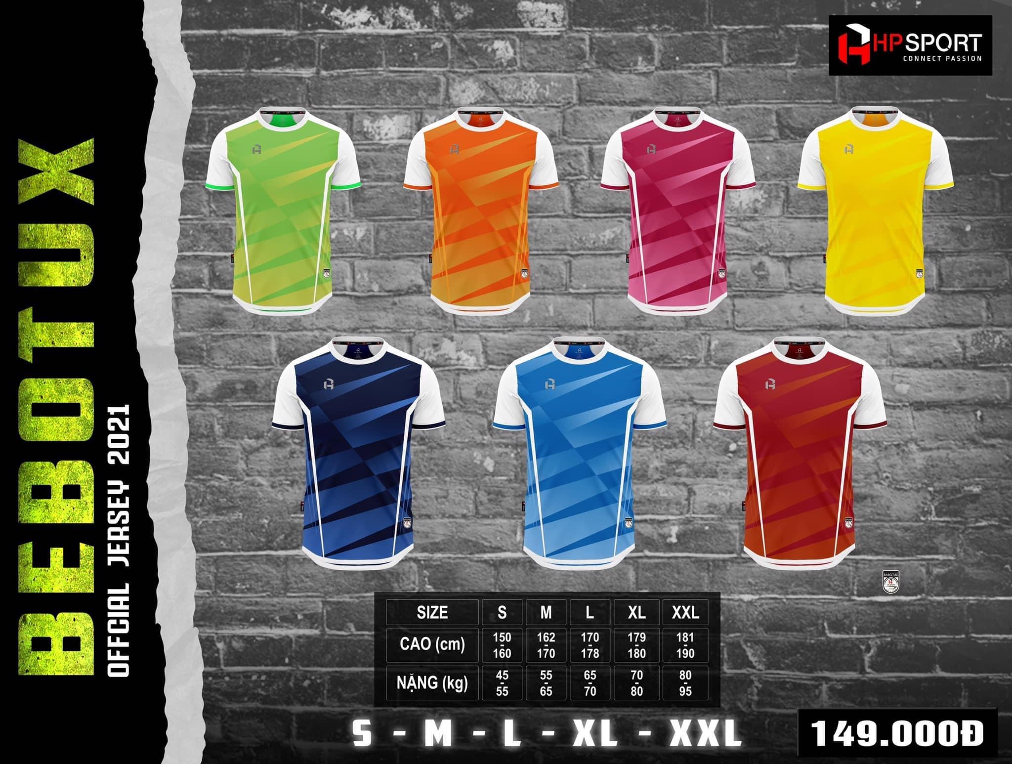 Quần áo bóng đá Bebotux