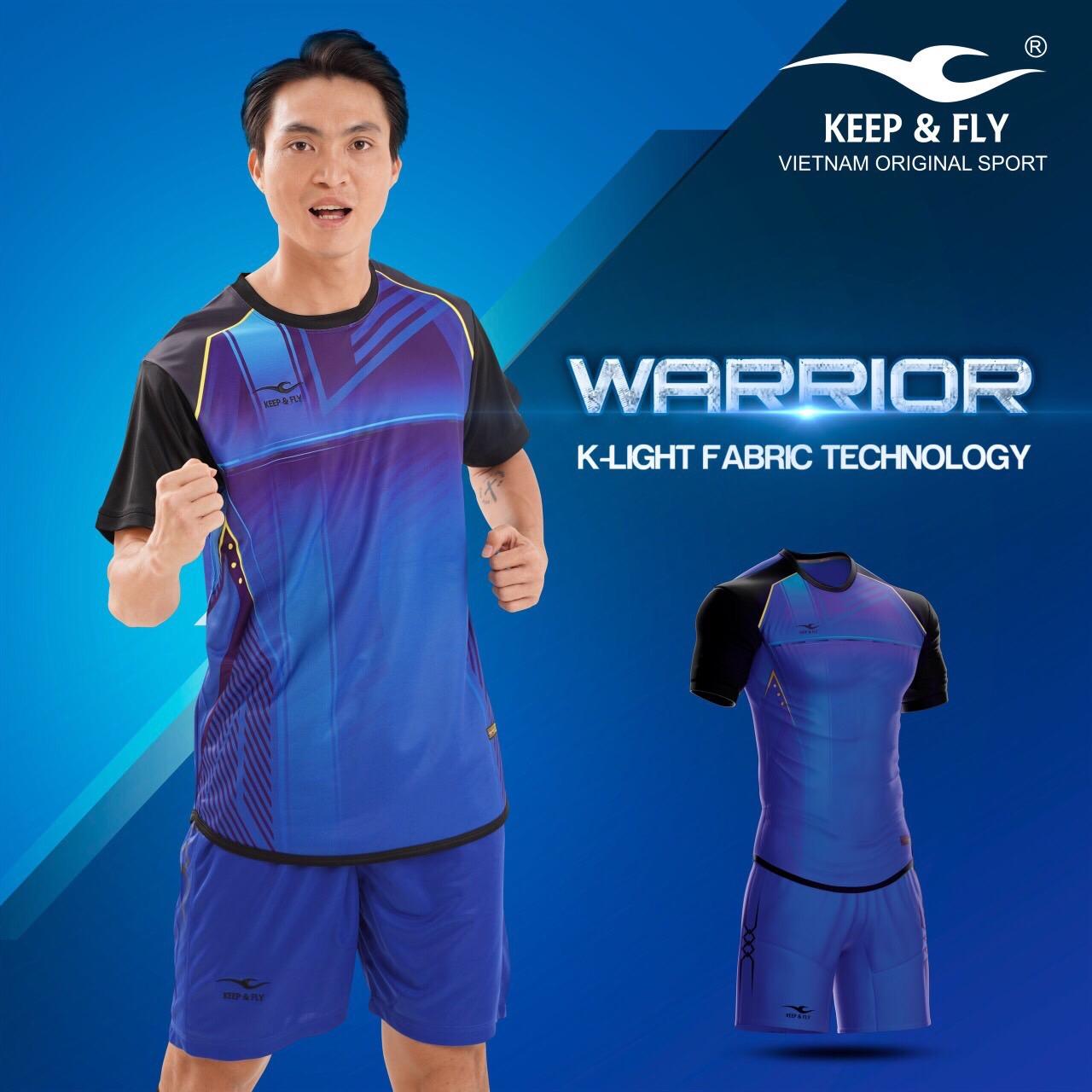 Áo bóng đá Keep & Fly Warriort