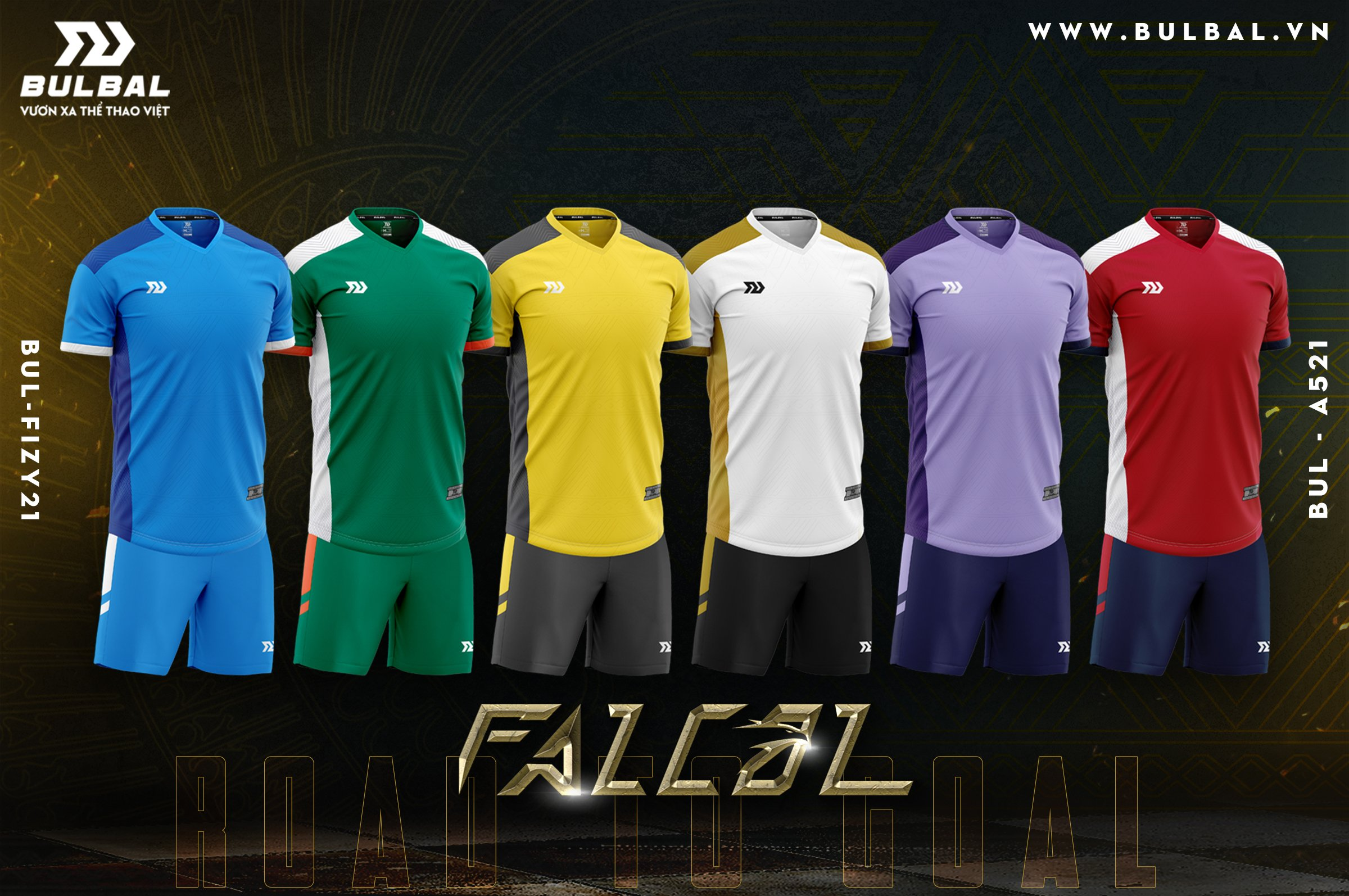 Quần áo bóng đá Bulbal Facol
