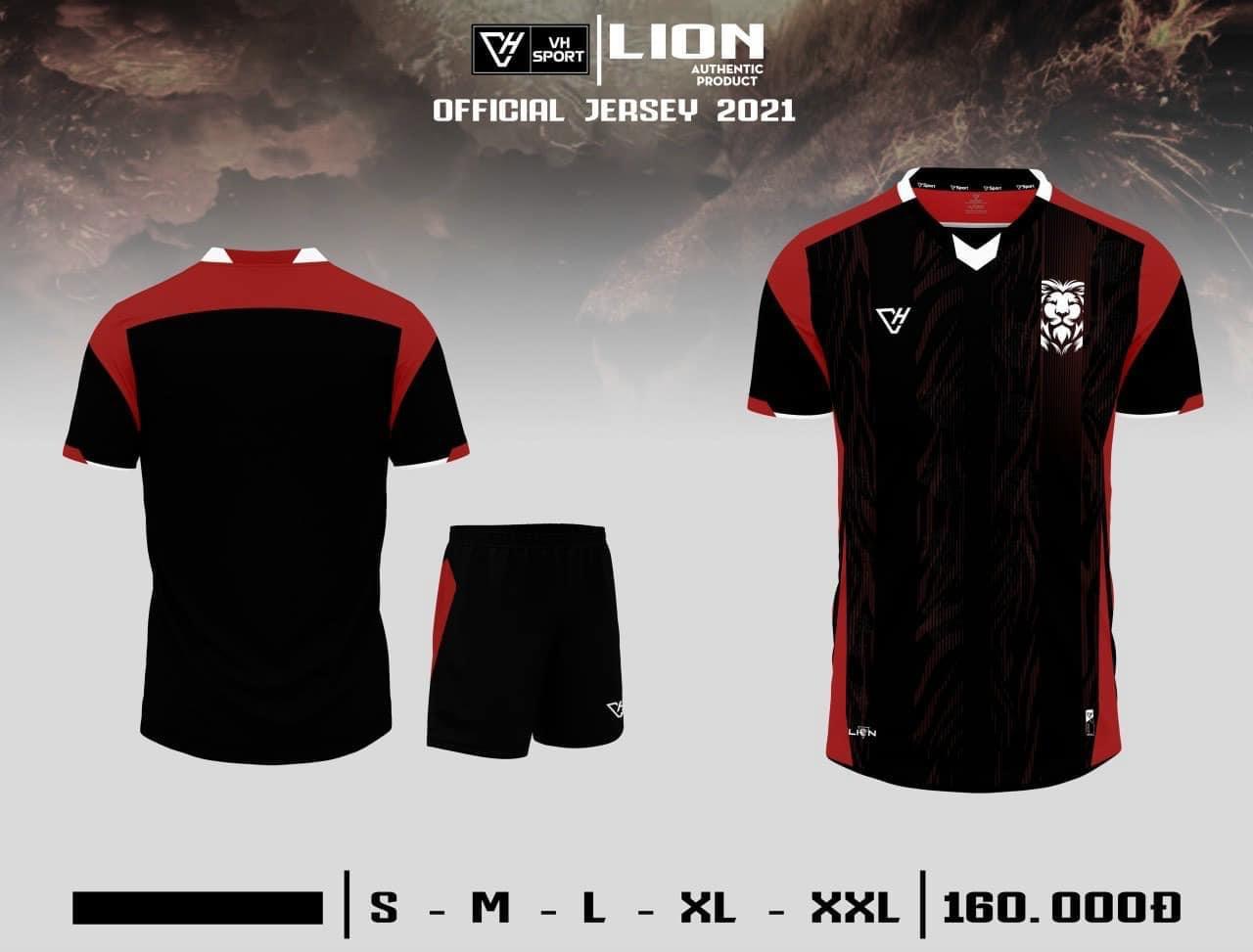 Quần áo bóng đá Lion