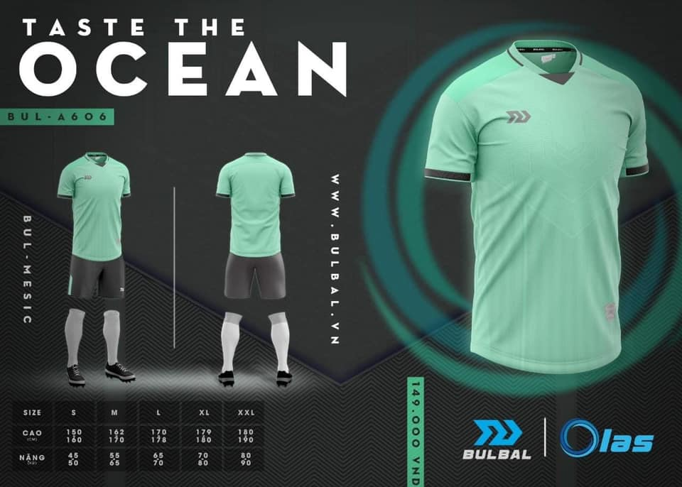 Áo bóng đá Bulbal Ocean