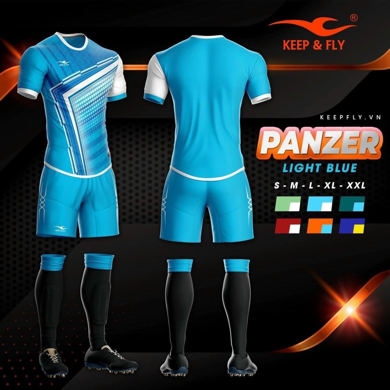 Quần áo bóng đá KEEP & FLY PANZER