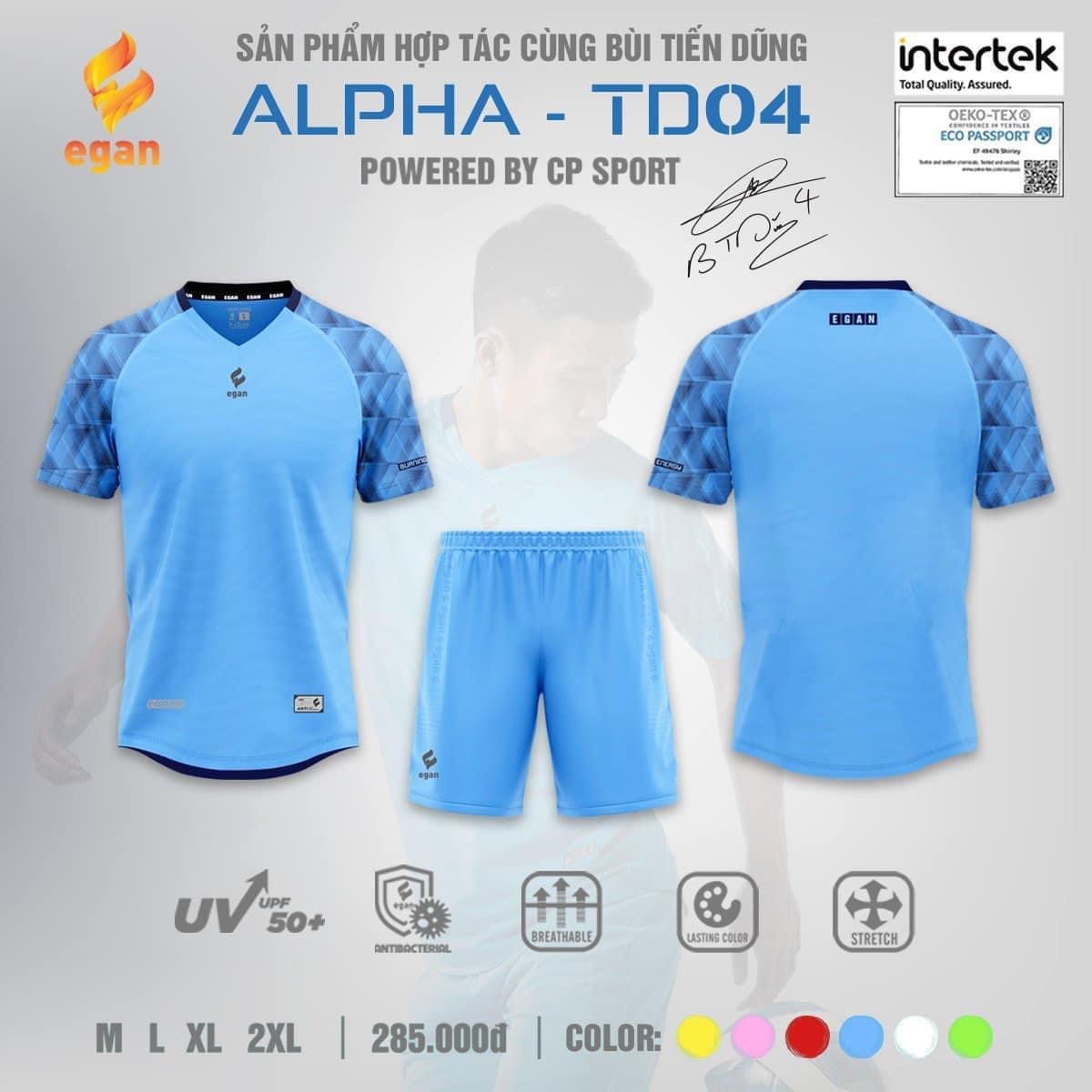 Áo bóng đá Egan Alpha TD-04