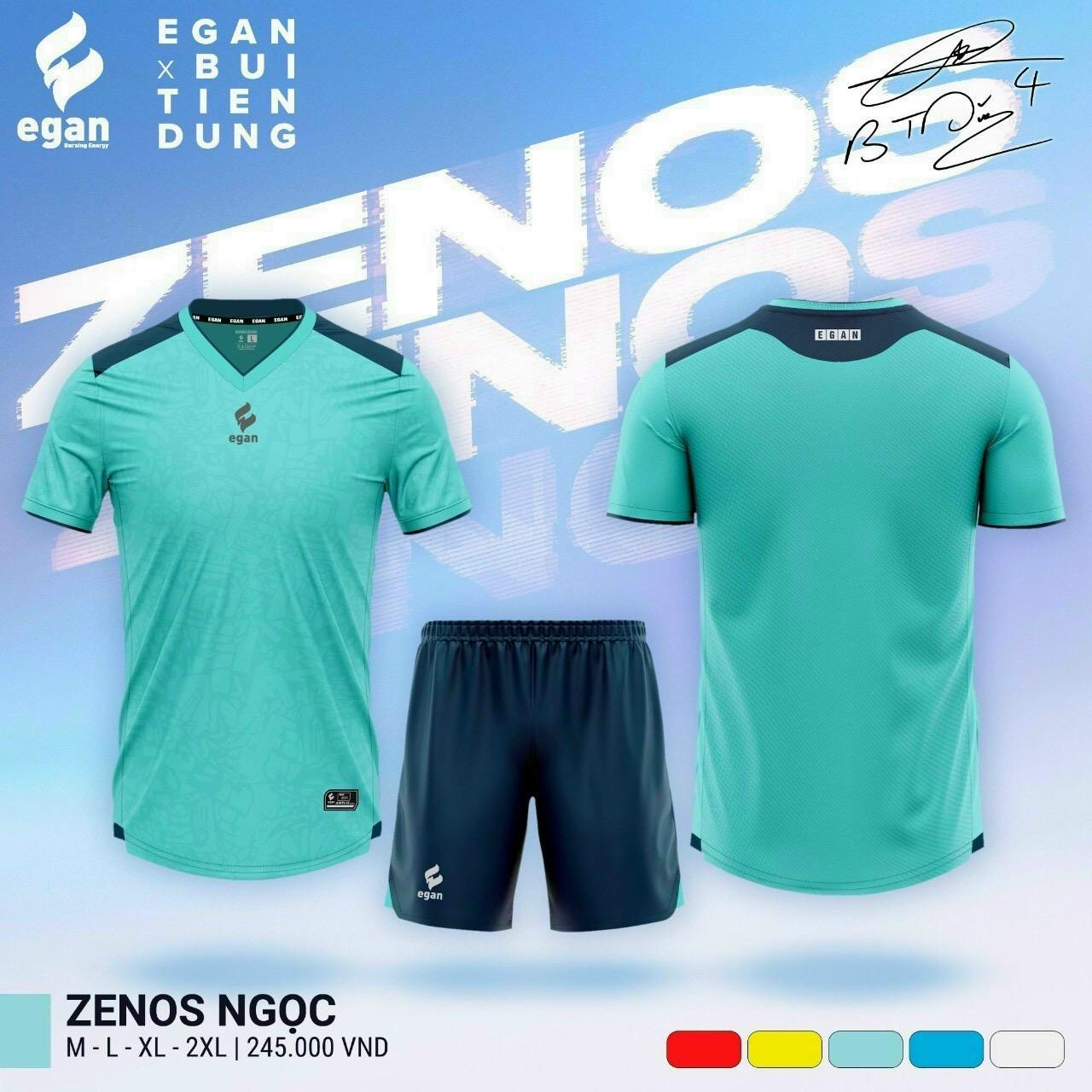 Quần áo bóng đá Egan Zenos