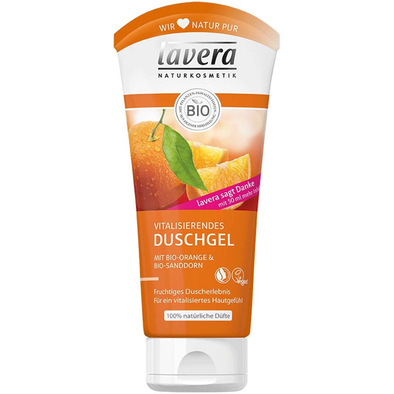 Sữa tắm người lớn cam Lavera (200ml)