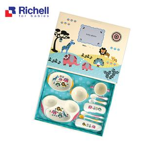Bộ đồ ăn cho bé Kinpro lớn Richell RC21241