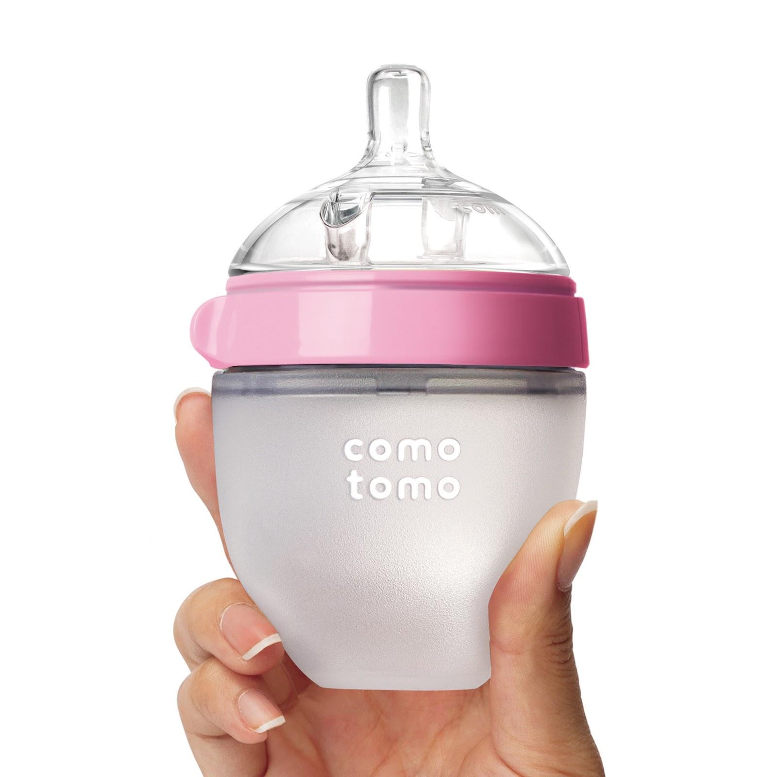 Bình sữa silicone Comotomo 150ml