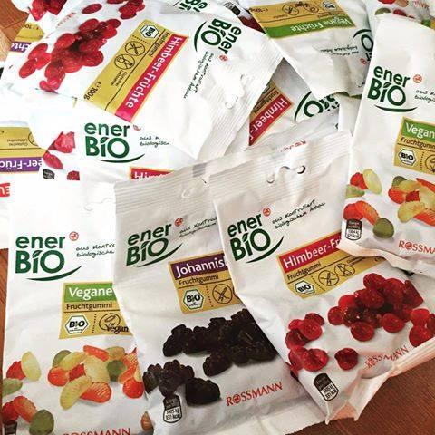 Kẹo dẻo (chip chip) hữu cơ enerBiO