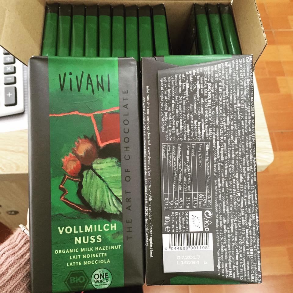 Socola hạt dẻ Vivani (100g)