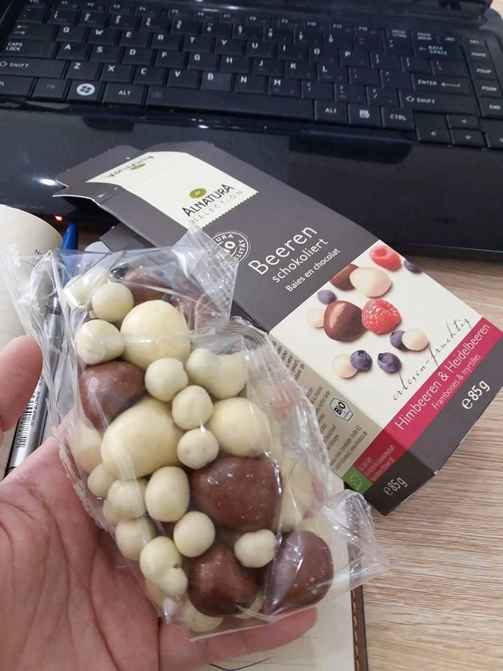 Socola hoa quả Alnatura