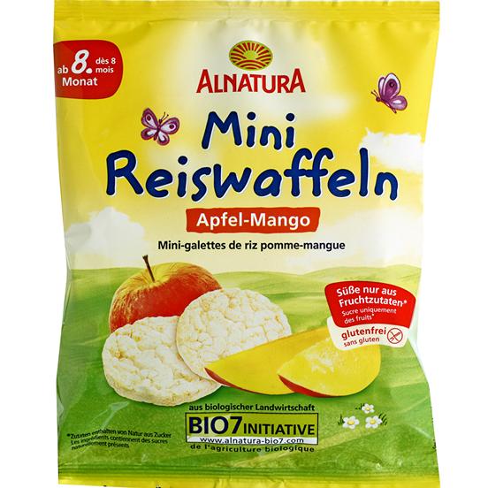 Bánh gạo Alnatura (35g)