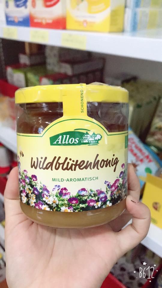 Mật ong Allos (500ml)