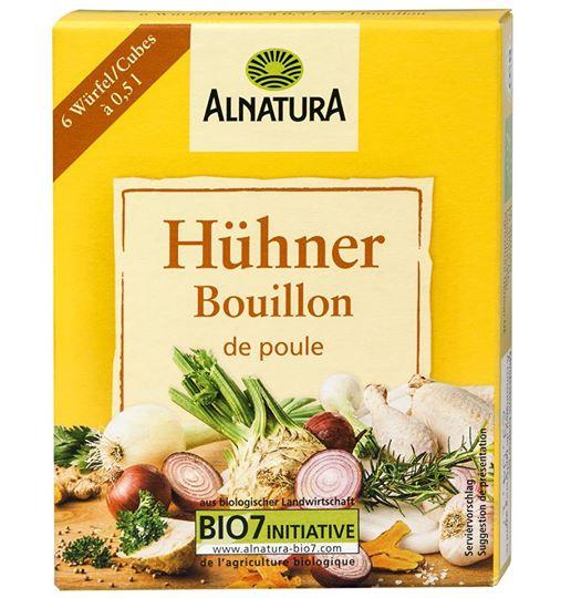 Hạt nêm Alnatura gà (6v)
